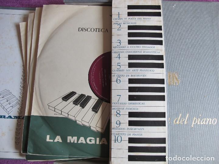 Discos de vinilo: LP - LA MAGIA DEL PIANO - VARIOS (CAJA CON 10 LPS, SPAIN, READERS DIGET 1965, VER FOTOS ADJUNTAS) - Foto 3 - 121050751