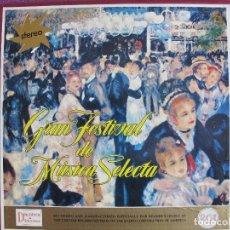 Discos de vinilo: LP - GRAN FESTIVAL DE MUSICA SELECTA-VARIOS (CAJA CON 11 LP'S Y LIBRETO, SPAIN, READER'S DIGEST 1966. Lote 121051651