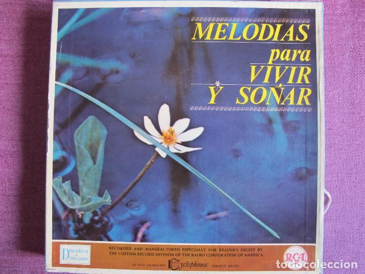 LP - MELODIAS PARA VIVIR Y SOÑAR - VARIOS (CAJA CON 12 LP'S Y PROGRAMA, SPAIN, READER'S DIGEST 1964) (Música - Discos - LP Vinilo - Orquestas)