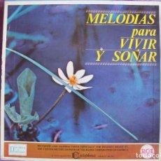 Discos de vinilo: LP - MELODIAS PARA VIVIR Y SOÑAR - VARIOS (CAJA CON 12 LP'S Y PROGRAMA, SPAIN, READER'S DIGEST 1964). Lote 121053103