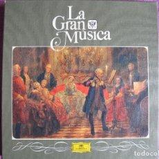 Discos de vinilo: LP - LA GRAN MUSICA 3 - EL ESPLENDOR DEL 700 (CAJA CON 6 LP Y LIBRO CON 94 PAG.). Lote 121054719