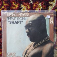 Dischi in vinile: SINGLE ISAAC HAYES- SHAFT, BANDA SONORA.. Lote 121054982