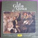 Discos de vinilo: LP - LA GRAN MUSICA 4 - HEROISMO Y DESESPERACION (CAJA CON 5 LP Y LIBRO CON 94 PAG.)FALTA EL Nº 1. Lote 121055215
