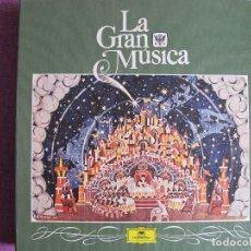 Discos de vinilo: LP - LA GRAN MUSICA 9 - LOS ULTIMOS SEMIDIOSES (CAJA CON 6 LP Y LIBRO CON 94 PAG.). Lote 121055899
