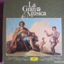 Discos de vinilo: LP - LA GRAN MUSICA 11 - LA MUSICA DE ESPAÑA (CAJA CON 5 LP Y LIBRO CON 94 PAG.) FALTA EL VOL. 6. Lote 121056899