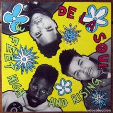 Discos de vinilo: DE LA SOUL - 3 FEET HIGH AND RISING - 1989 - CON ENCARTE. Lote 121059171