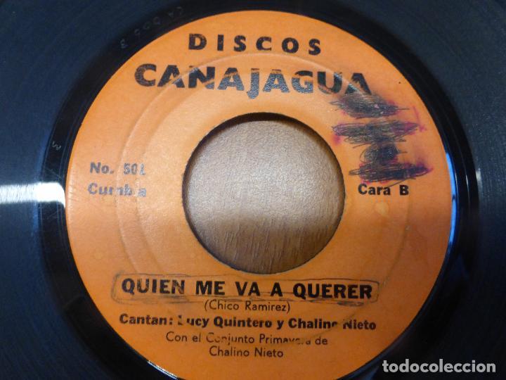 Discos de vinilo: Lucy Quintero Y Chalino Nieto Con El Conjunto Primavera de Chalino Nieto-Maria Jose/CUMBIA 1975 - Foto 2 - 121069463
