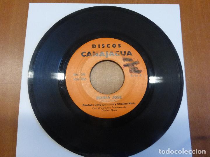 Discos de vinilo: Lucy Quintero Y Chalino Nieto Con El Conjunto Primavera de Chalino Nieto-Maria Jose/CUMBIA 1975 - Foto 4 - 121069463