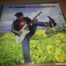 Discos de vinilo: FITO Y LOS FITIPALDIS - ANTES DE QUE CUENTE DIEZ - EDICION VINILO - A ESTRENAR. Lote 150181514