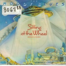 Disques de vinyle: MOODY BLUES - SITTING AT THE WHEEL / SORRY (SINGLE ESPAÑOL, THRESHOLD RECORDS 1985). Lote 121108207