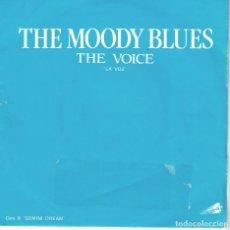 Disques de vinyle: MOODY BLUES - THE VOICE / GEMINI DREAM (SINGLE ESPAÑOL, THRESHOLD RECORDS 1981). Lote 121108319