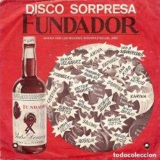 Discos de vinilo: FUNDADOR 10.201 - MIGUEL RÍOS – HIMNO A LA ALEGRÍA - EL RIO - VUELVO A GRANADA - EP 1970. Lote 121120907