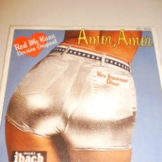 Discos de vinilo: SINGLE. ROD MC KUEN. AMOR, AMOR. HISPAVOX 1977 SPAIN (PROBADO Y BIEN). Lote 121122263