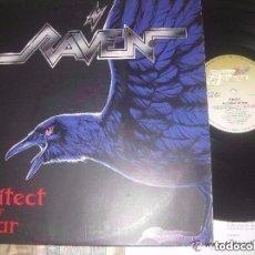 Discos de vinilo: RAVEN ARCHITECT OF FEAR (STEM HAMMER 1991) OG GERMANY. Lote 121128691
