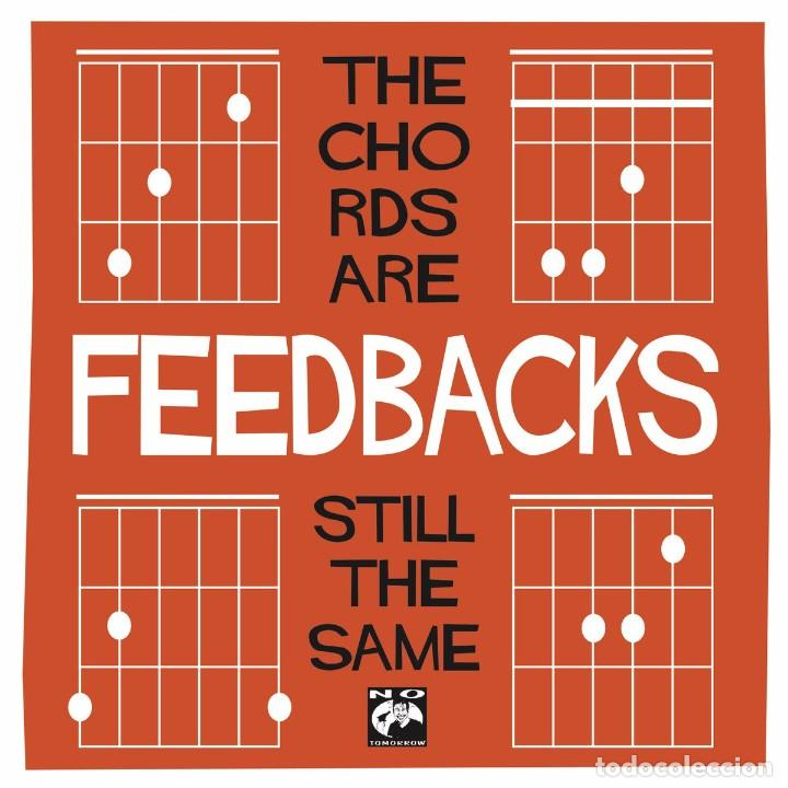 SINGLE EP FEEDBACKS THE CHORDS ARE STILL THE SAME VINILO POWER POP (Música - Discos de Vinilo - EPs - Grupos Españoles de los 90 a la actualidad)