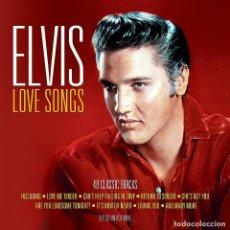 Discos de vinilo: ELVIS PRESLEY - LOVE SONGS - 3XLP VINILO ROJO - PRECINTADO. Lote 121143991
