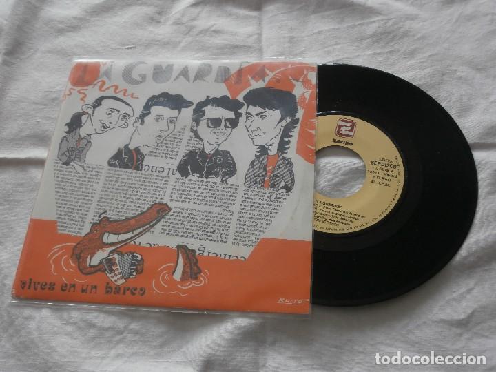 LA GUARDA 7 SG VIVES EN UN BARCO (1992) PROMOCIONAL DE RADIO ** NUEVO **EDICION SERDISCO -ZAFIRO (Música - Discos de Vinilo - Maxi Singles - Grupos Españoles de los 90 a la actualidad)
