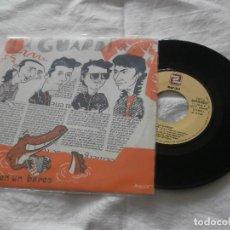 Discos de vinilo: LA GUARDA 7 SG VIVES EN UN BARCO (1992) PROMOCIONAL DE RADIO ** NUEVO **EDICION SERDISCO -ZAFIRO. Lote 121161299