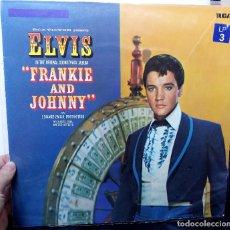 Discos de vinilo: {ELVIS PRESLEY} FRANKIE AND JOHNNY ? LP ? ©1966 - GERMANY / EX/EX. Lote 121163963