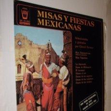 Discos de vinilo: MISAS Y FIESTAS MEXICANAS - GERARD KREMER *. Lote 121166107