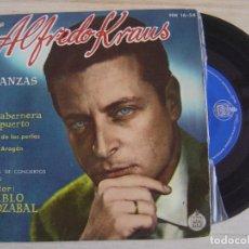 Discos de vinilo: ALFREDO KRAUS - ROMANZAS DE ZARZUELAS - SINGLE -/ ENVIO COMBINADO X 5€ TODOS LOS SINGLES QUE QUIERAS. Lote 121170887