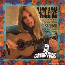 Discos de vinilo: VALERIE - LA CANÇO FOLK -, EP, EL LLAÇ ROSAT + 5, AÑO 1968. Lote 121172035