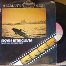 Discos de vinilo: CAMARO´S GANG - MOVE A LITTLE CLOSER - MAXI SINGLE 1984 - VICTORIA. Lote 121173399