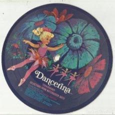 Discos de vinilo: DANCERINA EP 1968 MATTEL / TCHAIKOVSKY SELECTIONS FROM NUTCRACKER SUITE DISCO DE CARTON. Lote 121174579