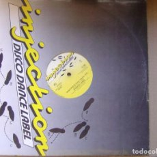 Discos de vinilo: SPENCER JONES - MISS FRIDAY - MAXI SINGLE HOLANDES 1986 - INJECTION. Lote 121175599