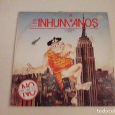 Discos de vinilo: DISCO VINILO INHUMANOS. Lote 121183631