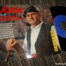 Discos de vinilo: GENARO DOMINGUEZ JOTAS NO IMPORTA SEA EN TERUEL/MAÑA QUE MAJA (..)/+6 EP 7'' 1961 BELTER SPAIN JOTA. Lote 121185399