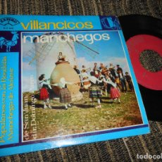 Discos de vinilo: MARY MONREAL&COROS Y RONDALLA MANCHEGA /+4 EP 7'' 195? ZAFIRO SPAIN CASTILLA LA MANCHA. Lote 121186399