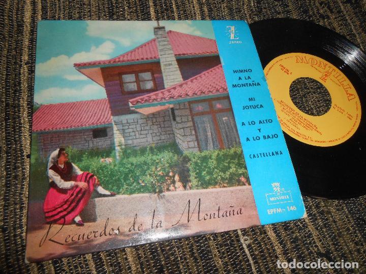 OCHOTE ECOS DEL EBRO RECUERDOS DE MONTAÑA/+4 EP 7'' 1960 ZAFIRO SPAIN SANTANDER CANTABRIA CASTILLA (Música - Discos de Vinilo - EPs - Country y Folk)