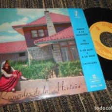Discos de vinilo: OCHOTE ECOS DEL EBRO RECUERDOS DE MONTAÑA/+4 EP 7'' 1960 ZAFIRO SPAIN SANTANDER CANTABRIA CASTILLA. Lote 121186491