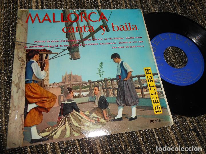 EL PARADO DE VALLDEMOSA BOLEROS AIROS/SA XIMBOMBA/+6 EP 7'' 1960 BELTER SPAIN MALLORCA FOLK (Música - Discos de Vinilo - EPs - Country y Folk)