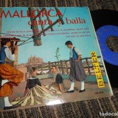Discos de vinilo: EL PARADO DE VALLDEMOSA BOLEROS AIROS/SA XIMBOMBA/+6 EP 7'' 1960 BELTER SPAIN MALLORCA FOLK. Lote 121186579