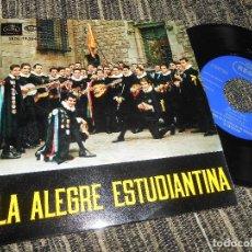 Discos de vinilo: TUNA DE LA FACULTAD MEDICINA BARCELONA EL PIO PIO/RONDALLA/ESTUDIANTINA/+1 EP 7''1960 REGAL SPAIN. Lote 121188063