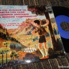 Disques de vinyle: COROS Y ORQUESTA DE LA CADENA AZUL DE RADIODIFUSION/+4 EP 7'' 1961 DONCEL SPAIN FRENTE JUVENTUDES. Lote 121189635