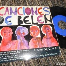 Discos de vinilo: ESCALONIA DEL SANTUARIO DEL CORAZON DE MARIA DUERMETE MI NIÑO/+3 7'' 1966 SPAIN XIAN. Lote 121190055