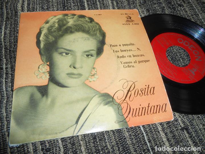 Rosita Quintana Poco A Poquito Los Bueyes N Ando En Buscas 1 Ep 7 1958 Odeon Spain