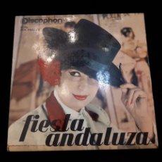 Discos de vinilo: FIESTA ANDALUZA. DISCOPHON.. Lote 121206662