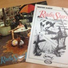Discos de vinilo: LP RADIO STARS/HOLYDAY ALBUM CON LIBRETO PROMOCIONAL EDITADO EN ESPAÑA 1979 MUY BUEN ESTADO . Lote 121209515