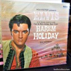 Discos de vinilo: {ELVIS PRESLEY} HAREM HOLIDAY ? LP ? - GERMANY / EX/EX. Lote 121215551