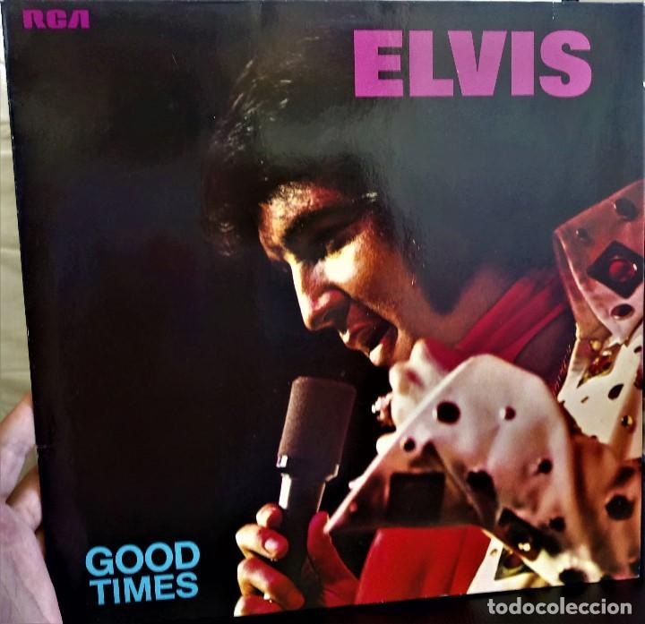 {ELVIS PRESLEY} GOOD TIMES - LP - 1974 - GERMANY / EX/EX (Música - Discos - LP Vinilo - Pop - Rock - Extranjero de los 70)