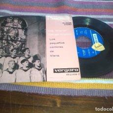 Discos de vinilo: O TANNENBAUM! (VILLANCICOS ALEMANES) LOS PEQUEÑOS CANTORES DE VIENA (VERGARA, 1961). Lote 121225835