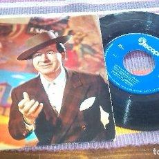 Discos de vinilo: JUANITO VALDERRAMA LA HIJA DE JUÁN SIMÓN RONDEÑA MALAGUEÑAS PERCHELERAS DE TRIANA A MÉJICO 1962. Lote 121226319