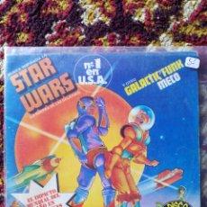 Discos de vinilo: SINGLE MECO- STAR WARS THEME, LA GUERRA DE LAS GALAXIAS, 1977.. Lote 121227216