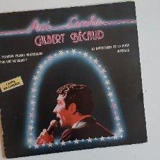 Discos de vinilo: (SEVILLA) LP - GILBERT BECAUD - ASI CANTA.... Lote 121234695