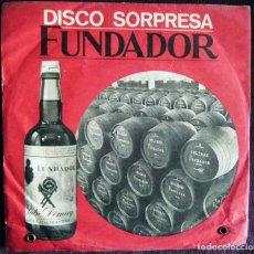 Discos de vinilo: DISCO SORPRESA FUNDADOR / TRES SN , 1964, 1965 Y 1968. ¡VERSIONES BEATLES!. Lote 121235319