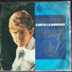 Discos de vinilo: RAPHAEL / RAPHAEL CANTA LA NAVIDAD.. Lote 121239243